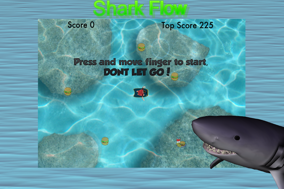 Screenshot Shark Flow