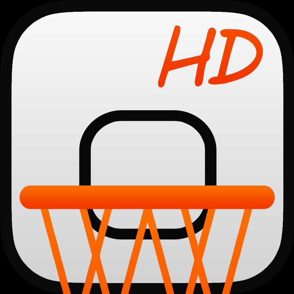 LetsBasket HD Estadísticas de tus partidos Marcador Temporizador & Baloncesto Scouting Gratis